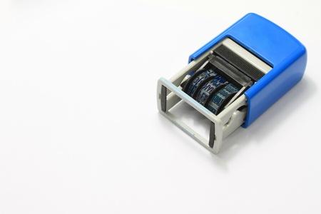 sigil: hand pump machine Stock Photo