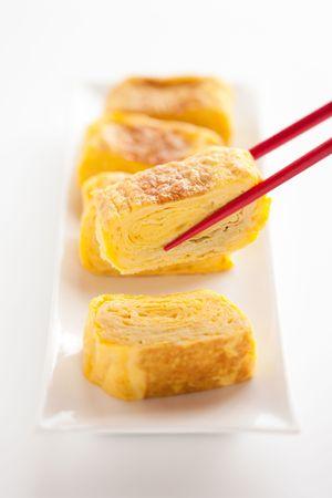 Japanese omelet photo