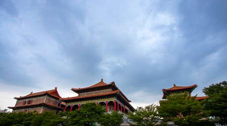 Wat Leng Nei Yi 2 has beautiful architecture of Chinese temple in Bang Bua Thong, Nonthaburi Province, Thailand.