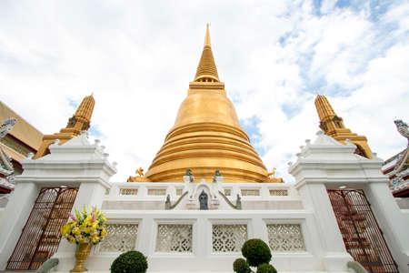 Wat Bowon Niwet Ratchaworawihan in Bangkok in Thailand