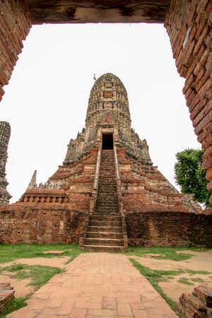 Chaiwatthanaram Temple in Phra Nakhon Si Ayutthaya Province in Thailand Reklamní fotografie