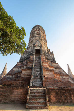 Chai Watthanaram Temple in Phra Nakhon Si Ayutthaya Province in Thailand
