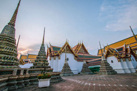 Wat Pho, one of the most beautiful temples in Bangkok, Thailand Reklamní fotografie