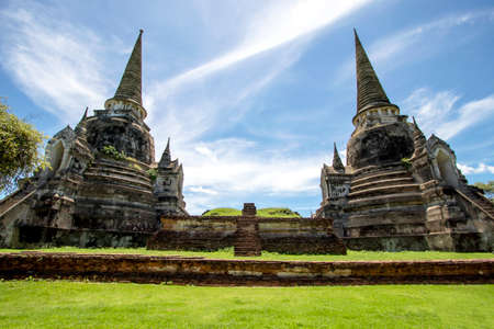 Wat Phra Sri Sanphet is another beautiful temple and is also an important religious tourist destination of Ayutthaya Province in Thailand.