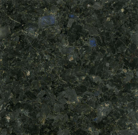polished: Black Granite