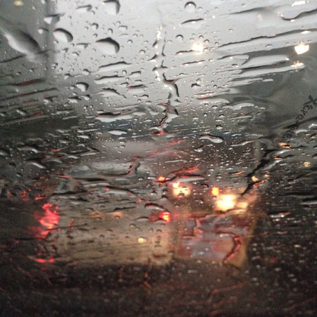 kropla deszczu: Raindrop in car Zdjęcie Seryjne