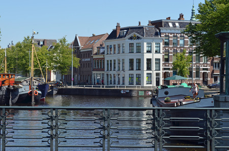 oficina antigua: Former harbor office Groningen
