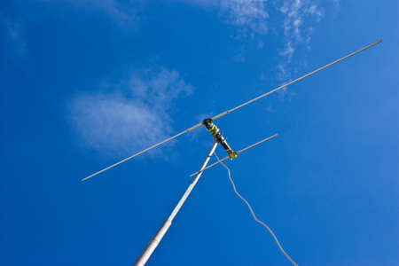 antenna and blue sky