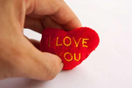 heart in my hand Stock Photo