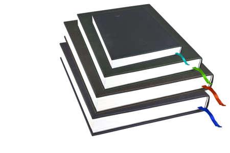 books isolated photo