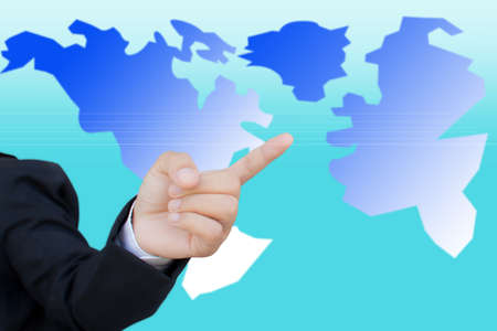 world business concept Stock Photo