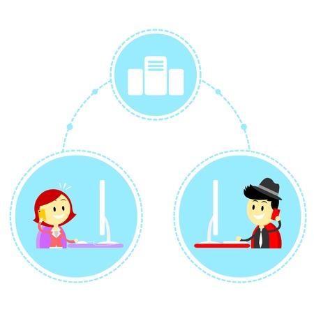 reviser: Distance de travail
