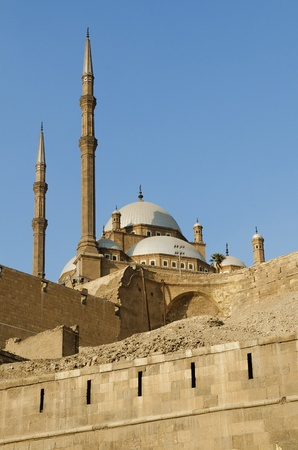 mosque in citadel of cairo egypt Stock Photo - 9747072