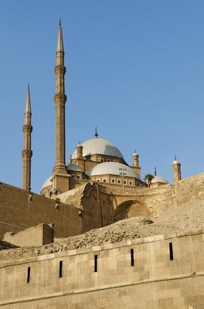 mosque in citadel of cairo egypt Stock Photo - 9747072