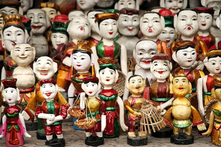 puppets: traditional puppets in hanoi vietnam
