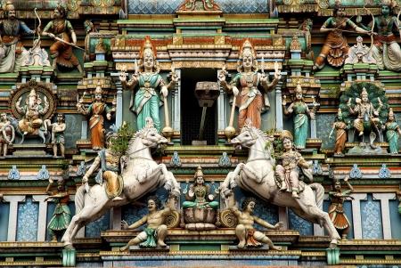 hindu temple in kuala lumpur malaysia photo