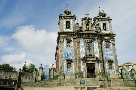 santo idelfonso church in porto portugal photo