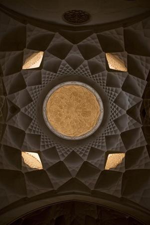 esfahan: ceiling in  esfahan isfahan iran