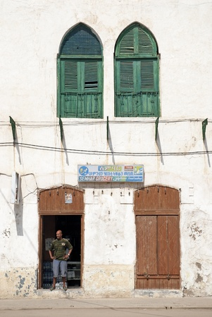 influenced: shop in massawa eritrea with ottoman influenced architecture