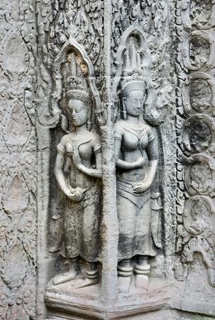 angkor wat: cambodia ancient khmer stone carvings angkor wat temples cambodia asia