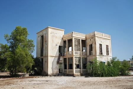 eritrea: italian colonial house in massawa eritrea Stock Photo