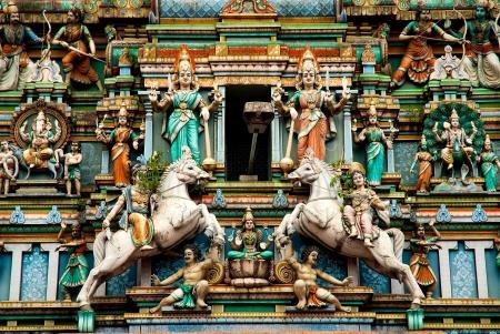 hindu temple in kuala lumpur malaysia Stock Photo - 13662155