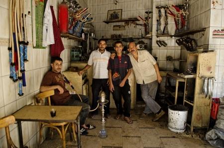 tea house: tea house in cairo egypt Editorial