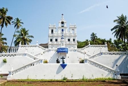 immaculate: Iglesia de La Concepci�n de Mar�a Inmaculada en Panaji Goa India Editorial