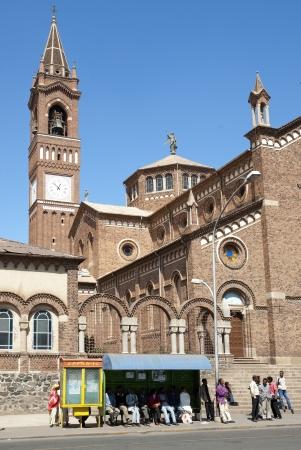 eritrea: saint josephs cathedral in asmara eritrea