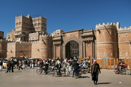 yemen: sanaa in yemen