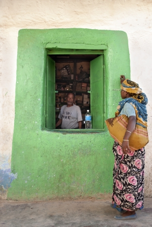 grocery shop in harar ethiopia