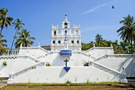 Church of Mary Immaculate Conception in panaji goa india photo