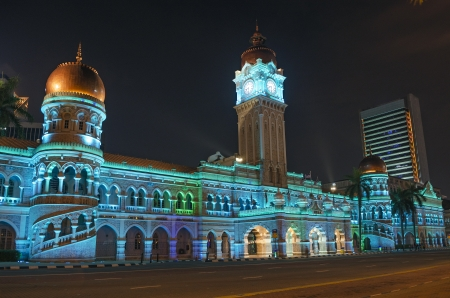 central government: architecture in central kuala lumpur malaysia
