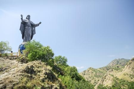 rei: CTGHHB cristo rei statue near dili east timor, timor leste