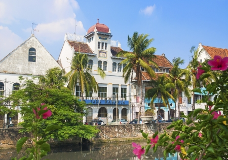jakarta: dutch colonial buildings in jakarta old town indonesia