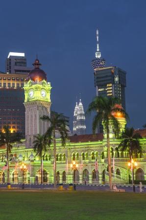 architecture in merdeka square kuala lumpur malaysia photo