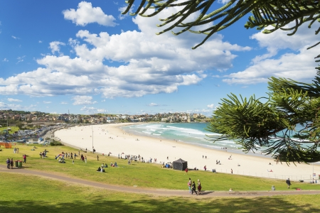 bondi beach view in sydney australia