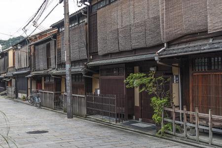 京都の伝統的なストリート