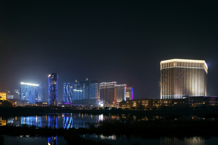 cotai strip casino hotel resort area of macau macao china