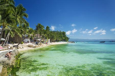 boracay: diniwid tropical paradise beach in boracay philippines