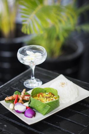 amok: ryby i kokos amok kambodżański tradycyjne curry