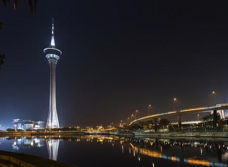 macao: landmark macau tower in macao macau china
