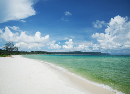 koh: sok san long white beach koh rong tropical island near sihanoukville cambodia
