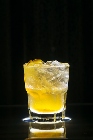 alcohol screwdriver: vodka and orange screwdriver classic famous fruity cocktail drink