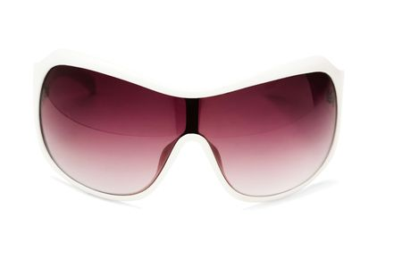 voguish: Sunglasses isolated over white