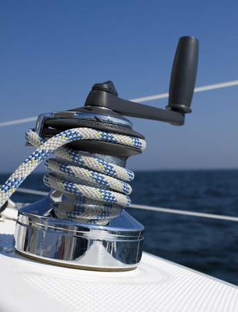 rigging: Winch