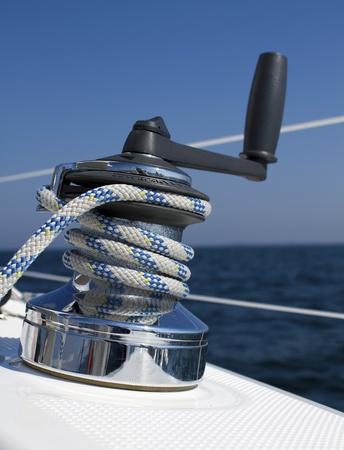 blue vessels: Winch