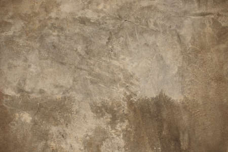 Cement  and concrete  texture , Brown  color. Abstract  Wall and  Background . Stock Photo