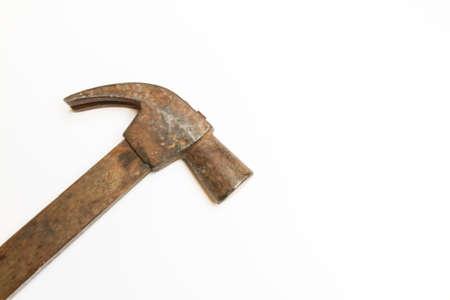 hammer on white background