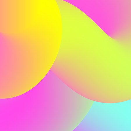 Abstract colorful fluid background